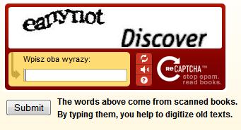 reCAPTCHA w praktyce